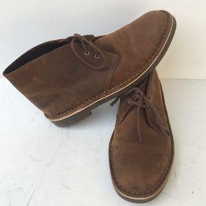 Men's Clarks  Bushacre  Chukka  Boots Size  10